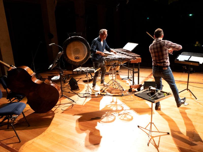 musica viva Probe für 2.10.2020 21 Uhr © Astrid Ackermann