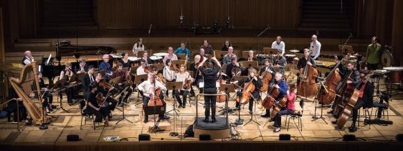 Ensemble Modern Orchestra © Ben Knabe