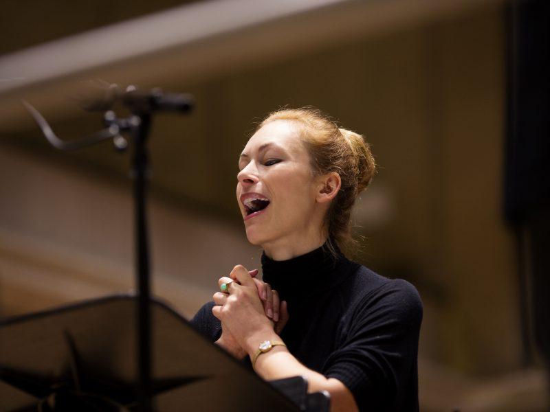 Sarah Maria Sun, Sopran Foto: Astrid Ackermann