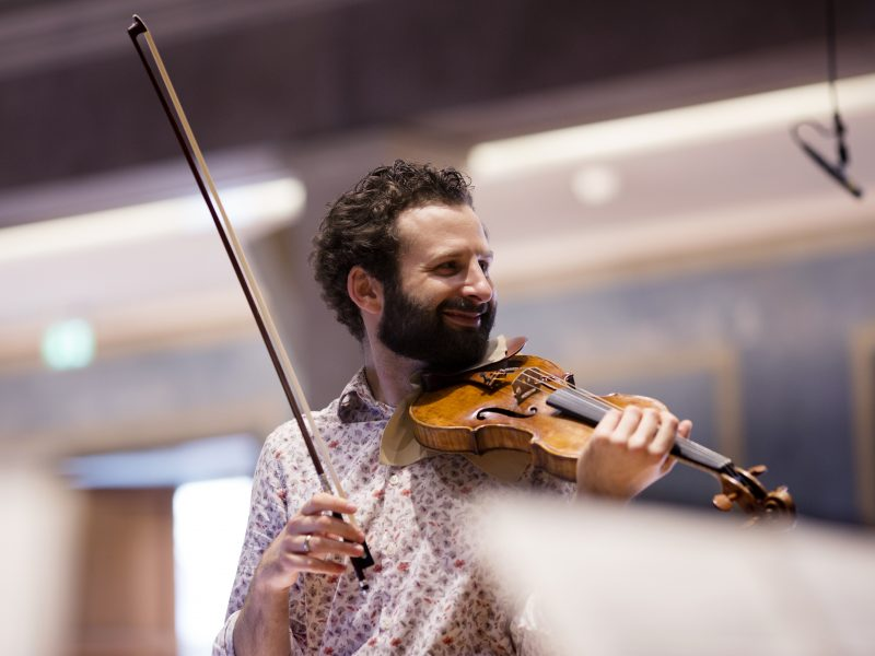 Ilya Gringolts, Violine Foto: Astrid Ackermann