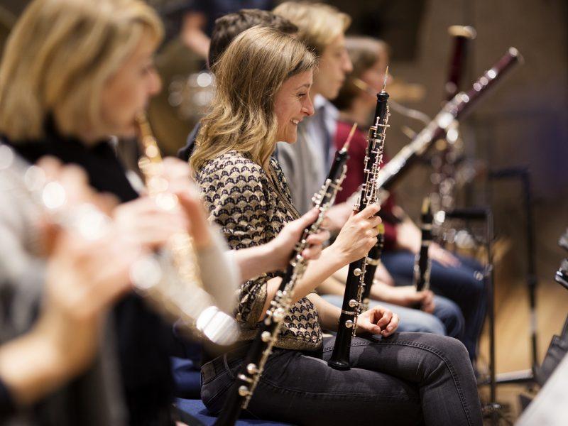 Musikerinnen und Musiker des BRSO Foto: Astrid Ackermann