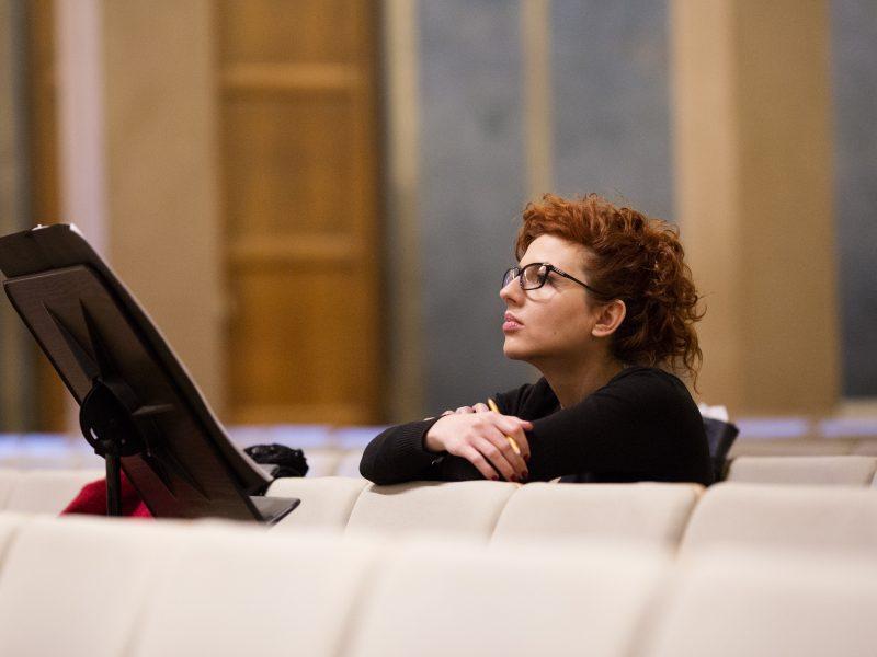 Komponistin Milica Djordjevic Foto: Astrid Ackermann