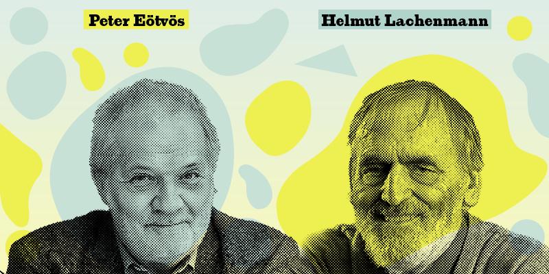 Peter Eötvös und Helmut Lachenmann © LMN Berlin