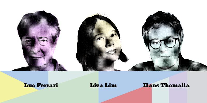 Luc Ferrari, Liza Lim, Hans Thomalla © LMN Berlin