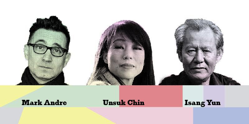 Mark Andre, Unsuk Chin, Isang Yun © LMN Berlin