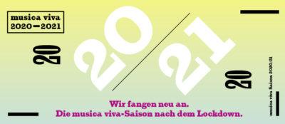 musica viva Saison 2020-21 Neuanfang