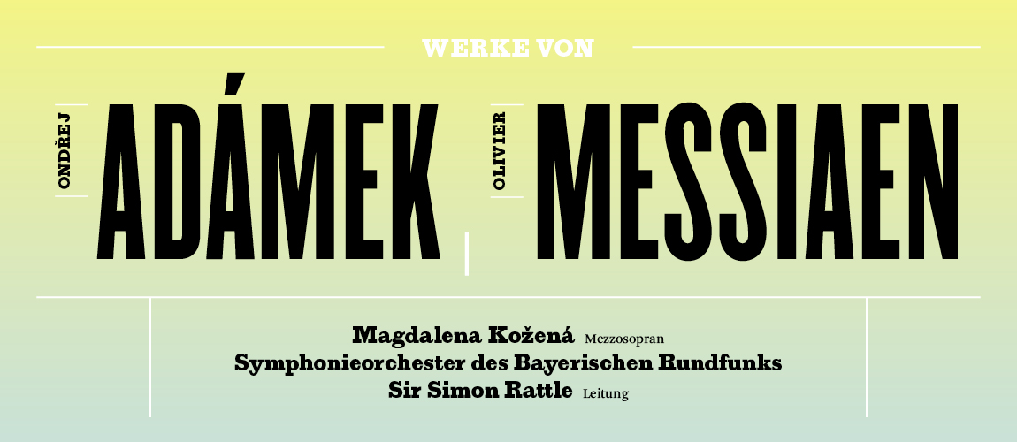 Titelbild zu Konzertvideo: BRSO, Magdalena Kožená und Sir Simon Rattle