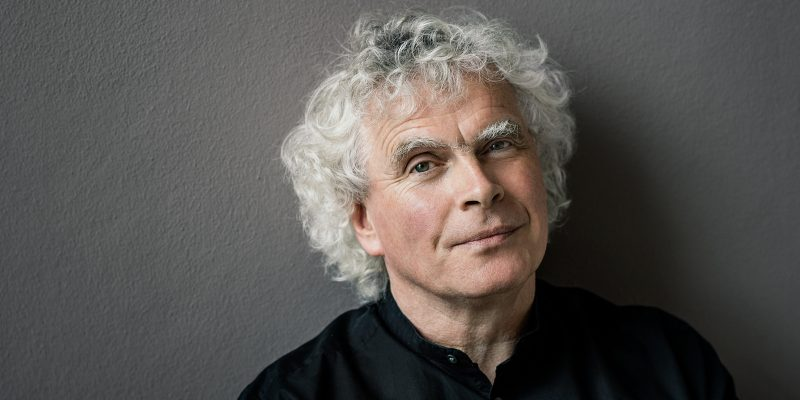 Sir Simon Rattle (c) Oliver Helbig