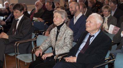 Hans und Gertrud Zender 2013 (c) Astrid Ackermann