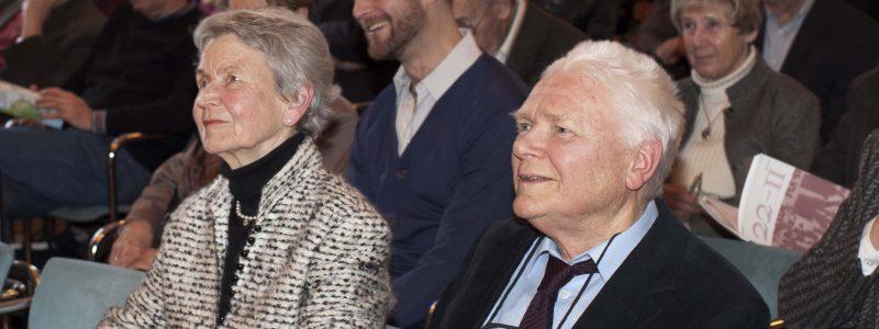 Hans und Gertrud Zender (c) Astrid Ackermann