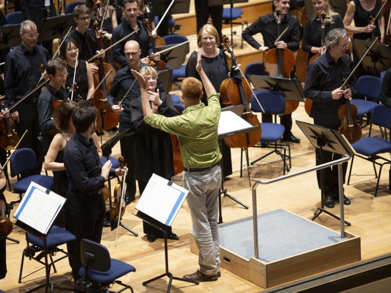 Chor und Symphonieorchester des Bayerischen Rundfunks mit Susanna Mälkki © Astrid Ackermann