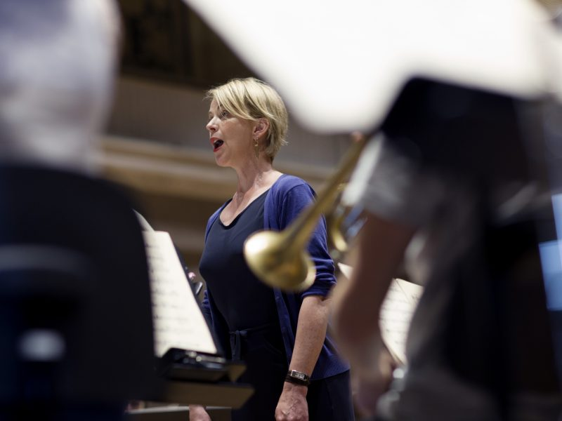 Anja Petersen, Sopran. Foto: Astrid Ackermann
