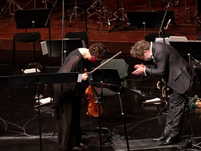 Tabea Zimmermann und Christian Gerhaher © Astrid Ackermann