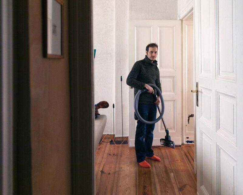 Interview in Bildern mit Ondřej Adámek © Astrid Ackermann