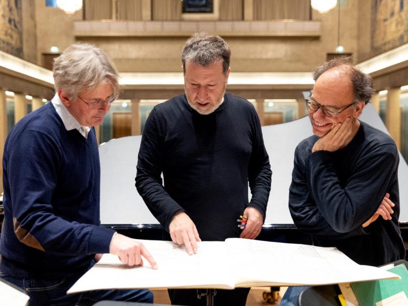 Brad Lubman, Andreas Grau und Götz Schumacher © Astrid Ackermann
