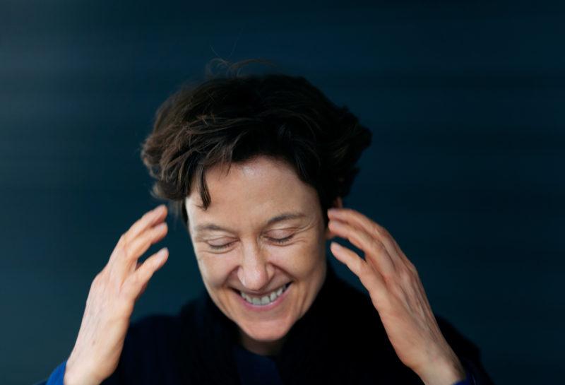 Interview in Bildern mit Isabel Mundry © Astrid Ackermann