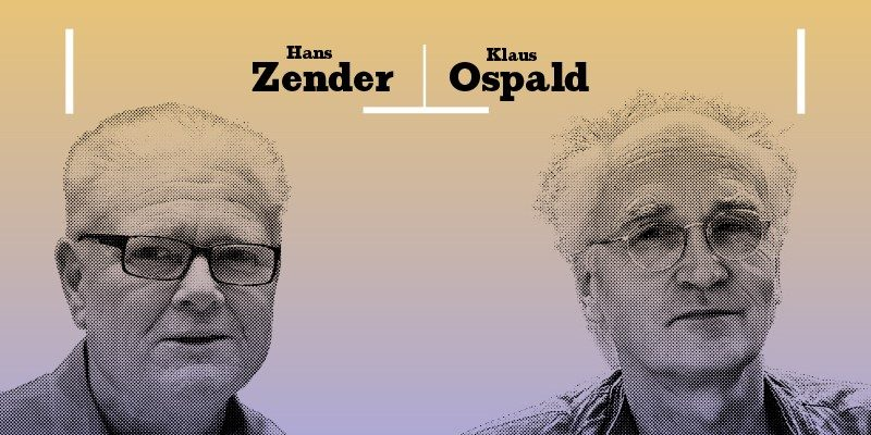 Hans Zender und Klaus Ospald © LMN