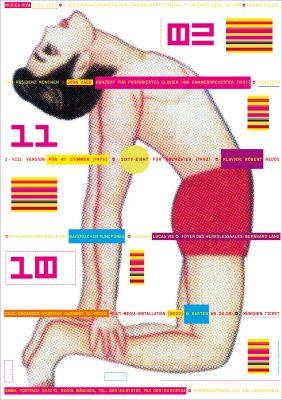 musica viva Plakat von Grafiker Günter Karl Bose (c) BR/musica viva, G. K. Bose