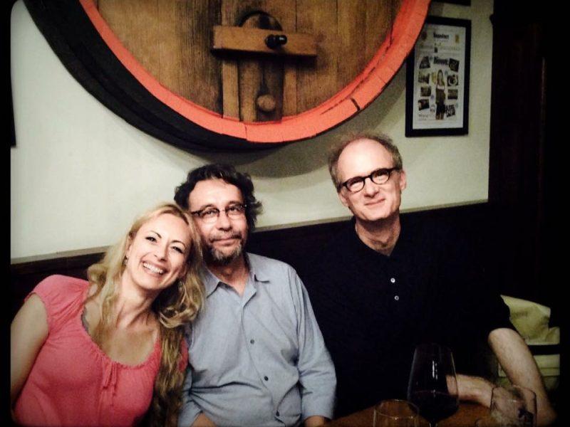 Sarah Maria Sun mit Brian Brandt (mitte) und Jan Philip Schulze (rechts) (c) Sarah Maria Sun