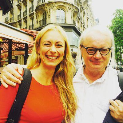 Sarah Maria Sun mit Philippe Manoury (c) Sarah Maria Sun
