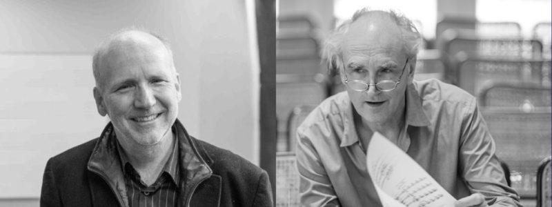 Jörn Peter Hiekel, Klaus Ospald © Maurice Weiss