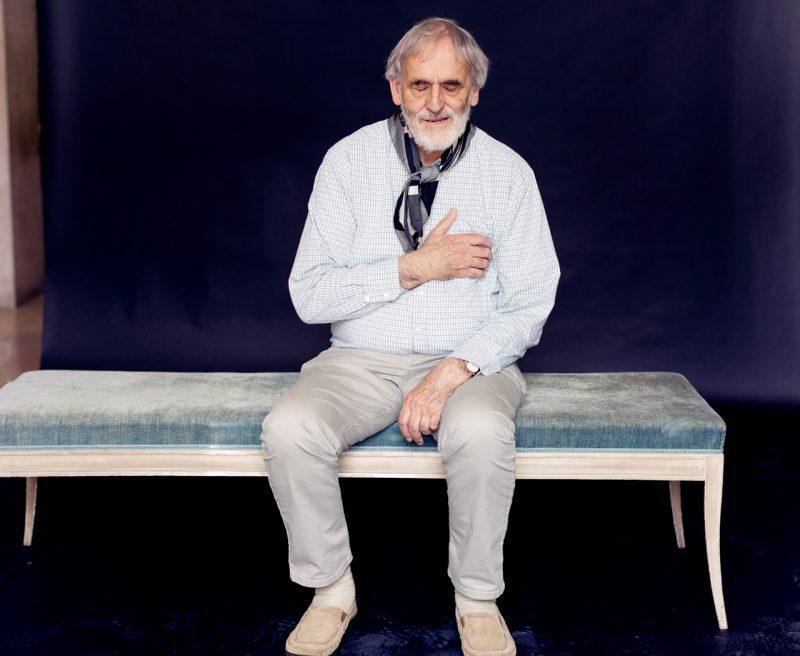 Helmut Lachenmann (c) Astrid Ackermann