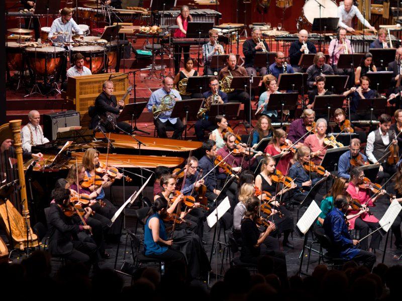 Ensemble Modern Orchestra, Enno Poppe © Astrid Ackermann