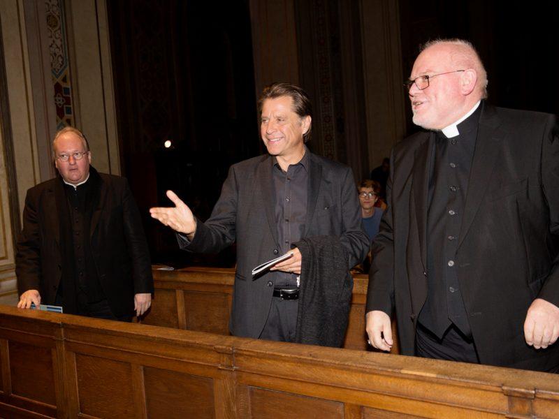 Markus Gottswinter, Winrich Hopp, Kardinal Marx © Astrid Ackermann
