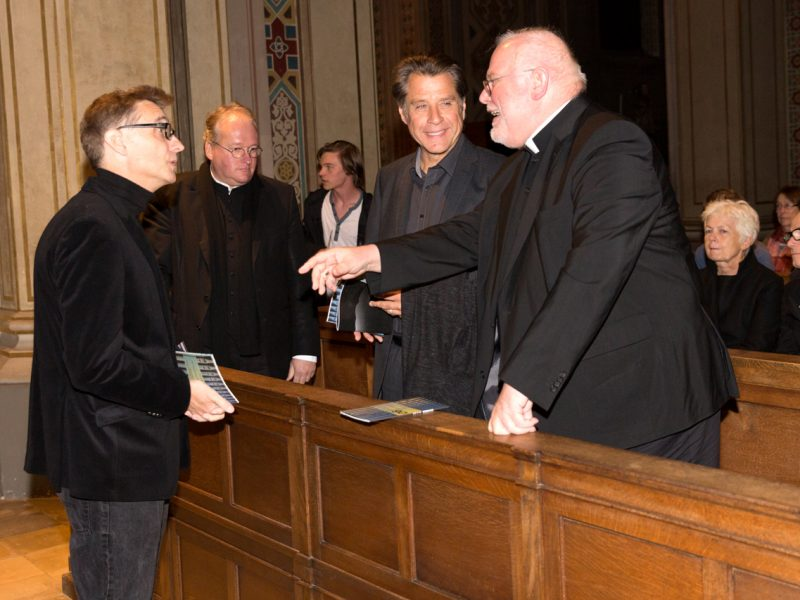 Mark Andre, Markus Gottswinter, Winrich Hopp, Kardinal Marx © Astrid Ackermann