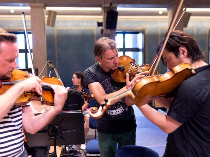 Ben Hames, Klaus-Peter Werani und Wen Xiao Zheng (c) Astrid Ackermann