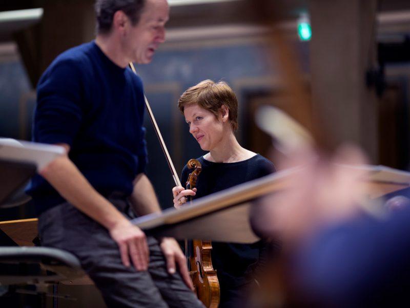 Probe für das Orchesterkonzert am 15.12.2017 (c) Astrid Ackermann