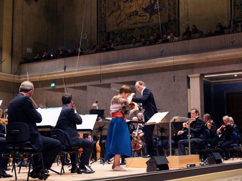 Orchesterkonzert und Recitals mit Isabelle Faust am 14./15.12. (c) Astrid Ackermann