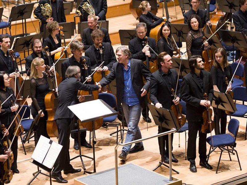 musica viva Orchesterkonzert mit Ilan Volkov am 19.1.2018, Komponist Markus Hechtle (c) Astrid Ackermann