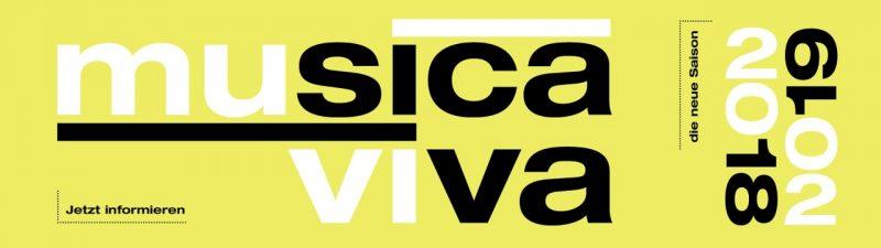 musica viva Saison 2018/19 - jetzt informieren
